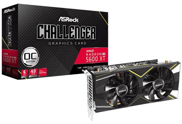 ASRock Radeon RX 5600 XT Challenger D 6G OC
