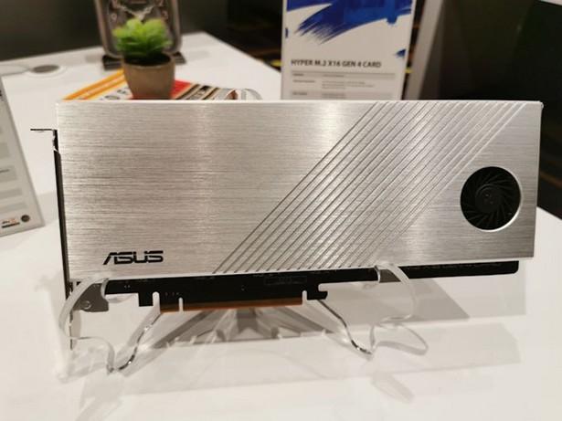 ASUS Hyper M.2 x16 Gen 4 PCI Express 4.0 x16