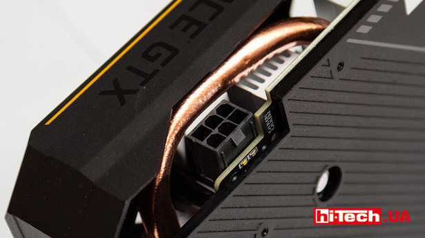 Разъем питания ASUS TUF Gaming GeForce GTX 1650 SUPER OC