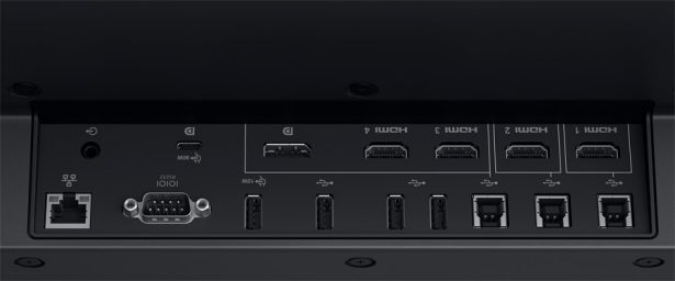 Панель разъемов монитора Dell 86 (C8621QT)