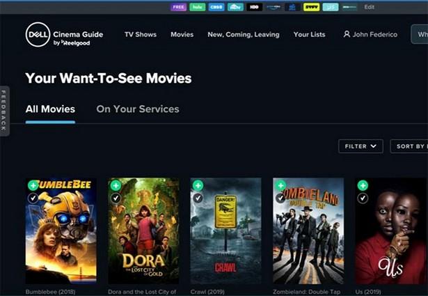 Dell Cinema Guide