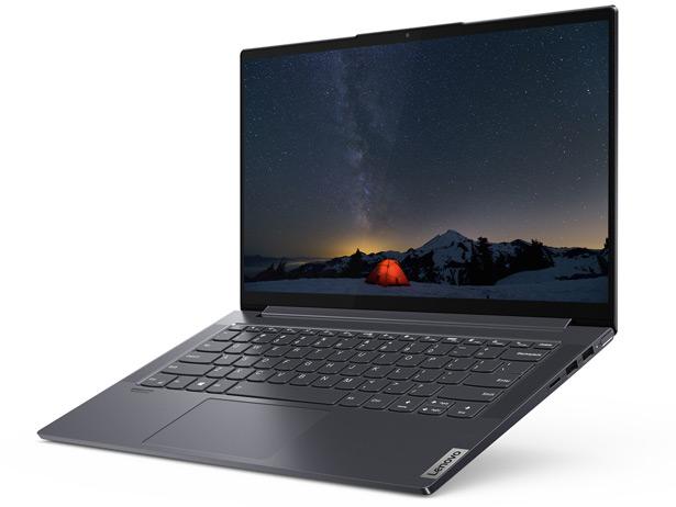 Lenovo Yoga Slim 7 — один из первых ноутбуков, на базе процессора AMD Ryzen 7 4800U
