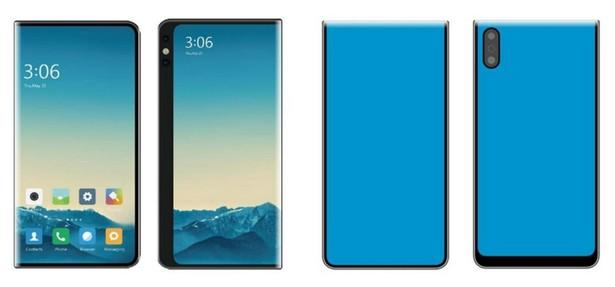 Xiaomi patent flexible smartphones