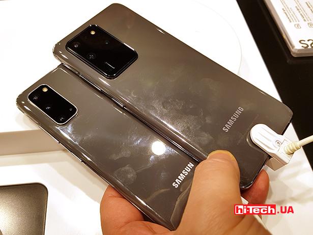 """Samsung Galaxy S20 с Galaxy S20 Ultra"