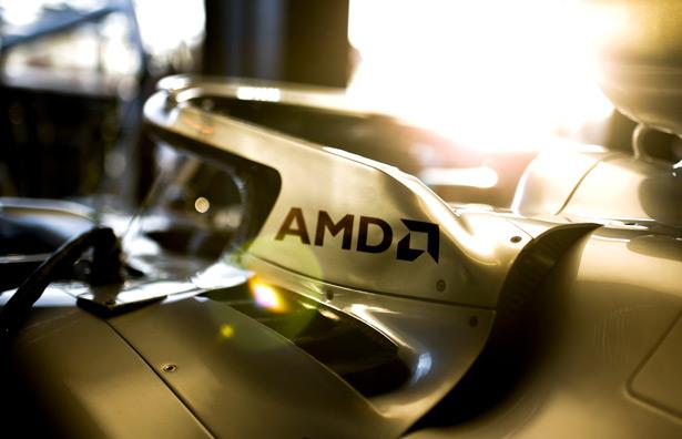 Партнерство AMD и команда Формулы-1 Mercedes-AMG Petronas