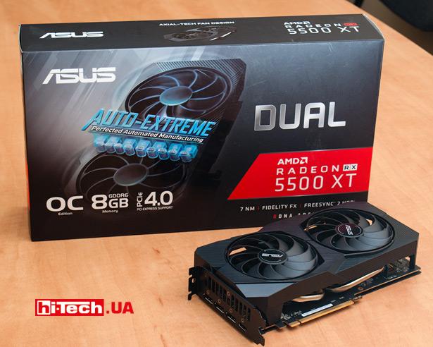 ASUS Dual Radeon RX 5500 XT EVO (DUAL-RX5500XT-O8G-EVO)