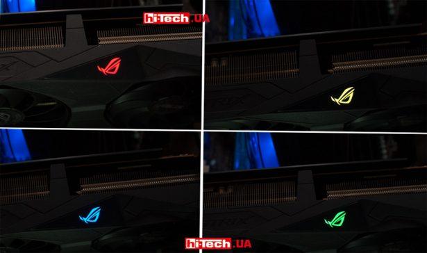 RGB-подсветка ASUS ROG Strix Radeon RX 5500 XT