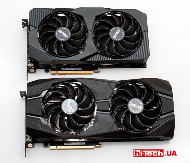 ASUS ROG Strix Radeon RX 5500 XT и ASUS Dual Radeon RX 5500 XT EVO