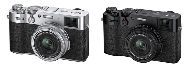 Fujifilm X100V в разных цветах