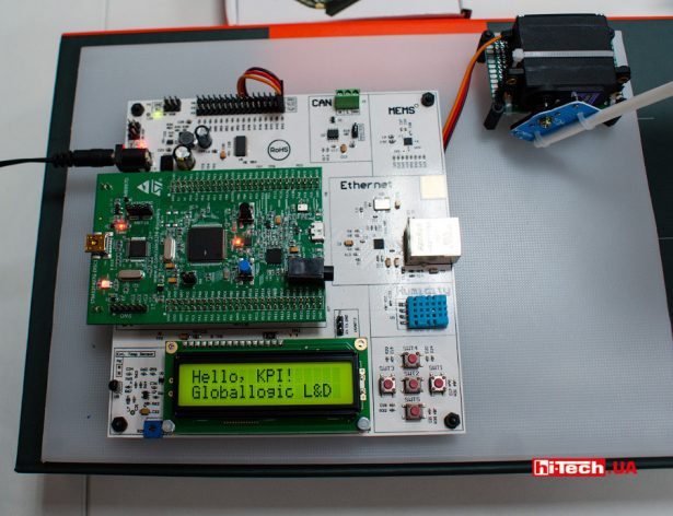 GlobalLogic Embedded Starter Kit в КПИ