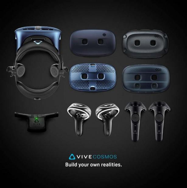 HTC Vive helmets