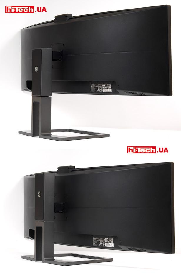 Настройка положения экрана Philips 499P9H