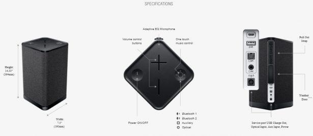 Bluetooth-колонка Ultimate Ears HYPERBOOM