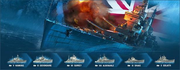 World of Warships GB ships