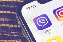 viber smartphone logo