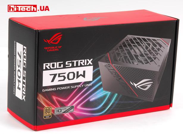 Коробка ASUS ROG-STRIX-750G