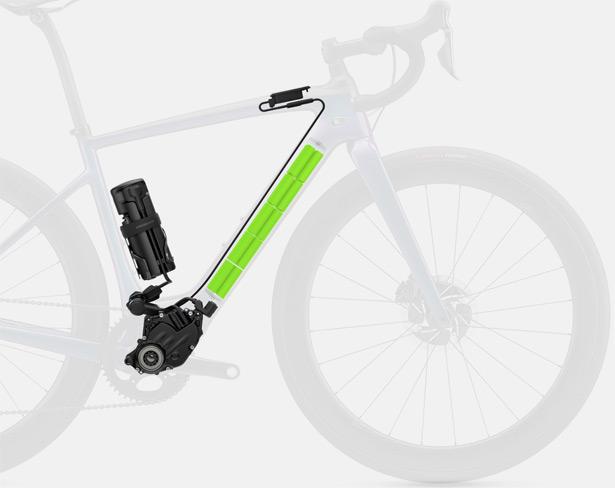 Электромотор на велосипеде