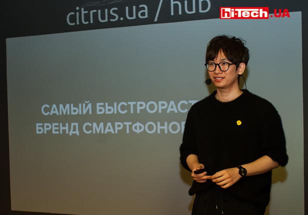 Джинн Сюй (директор по маркетингу realme в Украине)