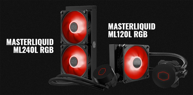 Cooler Master MasterLiquid ML120L V2 RGB и MasterLiquid ML240L V2 RGB