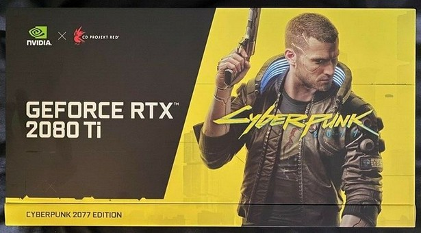 NVIDIA GeForce RTX 2080 Ti Cyberpunk 2077 Edition