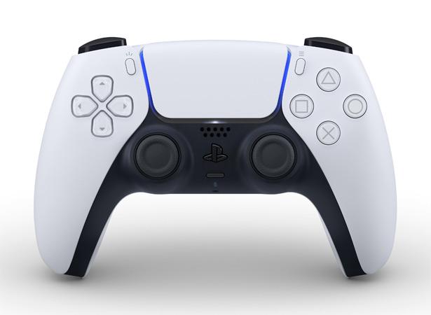 Официальное изображение игрового контроллера DualSense для консоли Sony PlayStation 5
