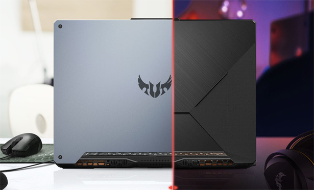 Два варианта крышки ASUS TUF Gaming A15/A17
