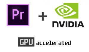 Adobe Premiere Pro 14.2 с аппаратным кодированием GPU видеокарты