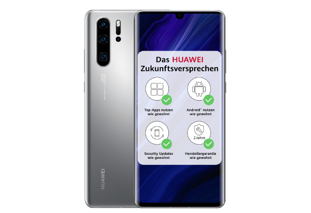 Huawei P30 Pro New Edition в цвете Silver Frost