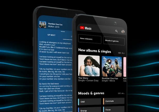 YouTube Music mobil
