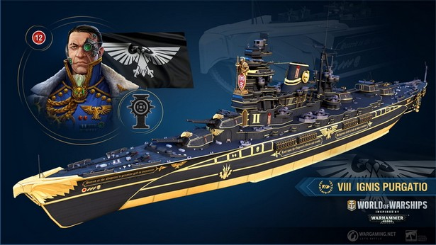 warhammer 40000 world of warships