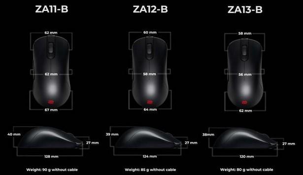 BenQ Zowie FK-B и ZA-B 3