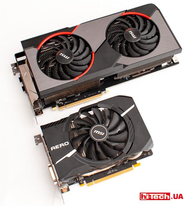 MSI Radeon RX 5600 XT Gaming X и MSI GeForce GTX 1070 Aero ITX OC