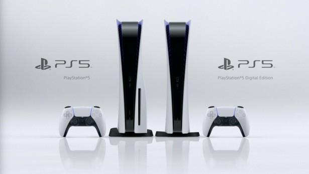 Стандартная PS5 и PS5 Digital Edition без дисковода.