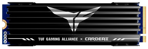 T-Force Cardea II TUF Gaming Alliance M.2 PCIe SSD