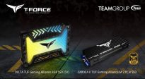 T-Force Delta TUF Gaming Alliance RGB SSD
