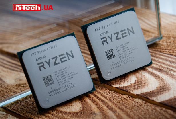 AMD Ryzen 3 3100 и Ryzen 3 3300X