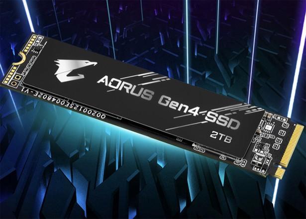 Gigabyte Aorus Gen4 SSD