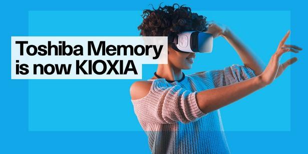 Kioxia rebrand Toshiba