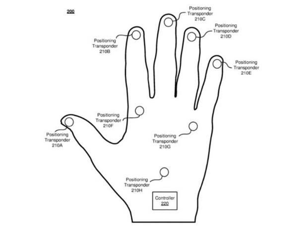 VR-перчатки Facebook