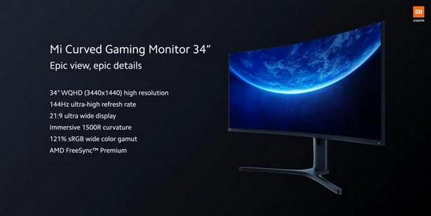 Xiaomi Mi Curved Gaming Monitor