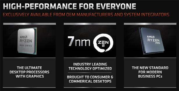 AMD Ryzen 4000G со встроенной графикой