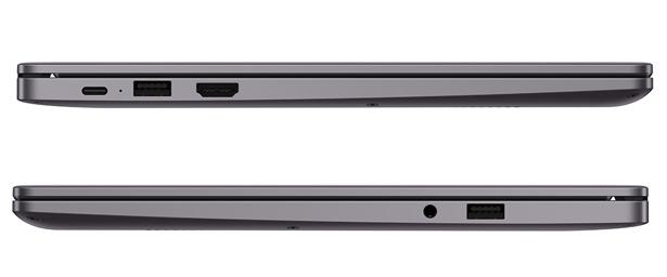 Набор портов Huawei MateBook D 14 и MateBook D 15