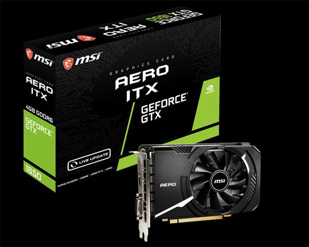 MSI GeForce GTX 1650 D6 AERO ITX V1