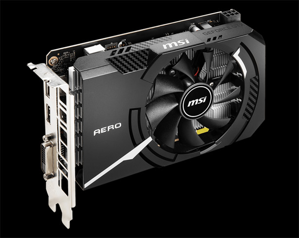 MSI GeForce GTX 1650 D6 AERO ITX V1/ OCV1