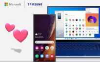 Microsoft Samsung your phone update