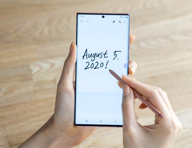S Pen в смартфонах Samsung Galaxy Note20 и Note20 Ultra