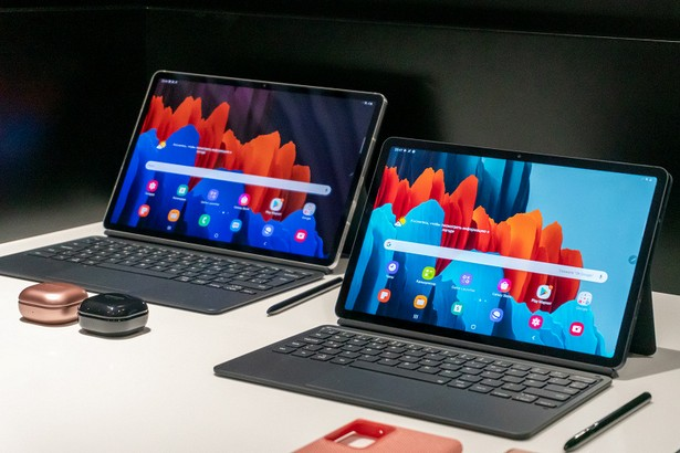 Samsung Galaxy Tab S7 и Galaxy Tab S7 plus