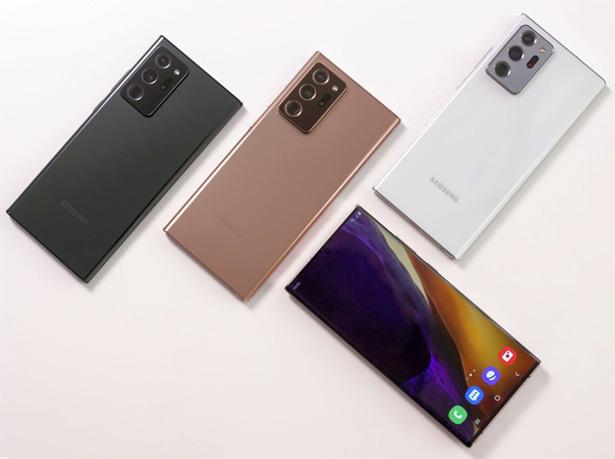 Неофициальное изображение Samsung Galaxy Note20