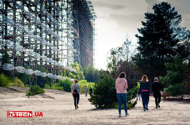 РЛС Дуга в Чернобыльской зоне