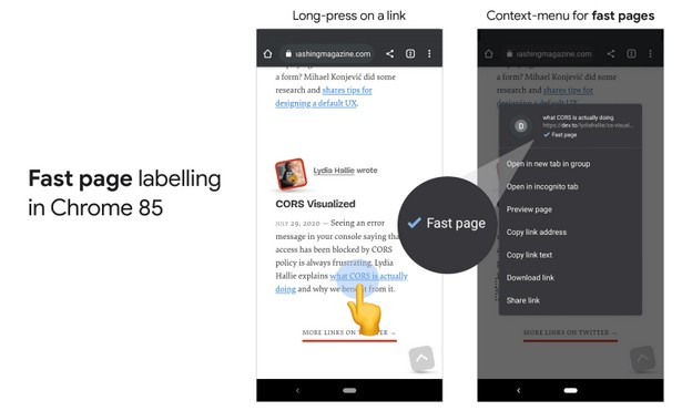 google chromee fast page 2020